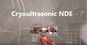 OEM-PA from AOS used in Cryoultrasonic NDE Research