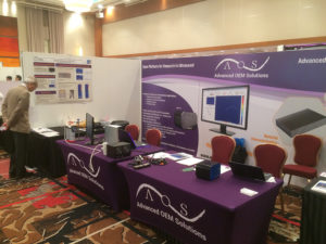 AOS Exhibit at the 2018 IEEE IUS Conference (Photos)